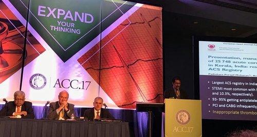 ACC 2017|Dr Shirish (M.S.) Hiremath - Cardiologist Pune|Shivaji Nagar,Pune