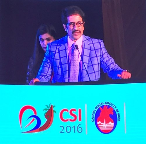 New President, CSI Addressing the conference|Dr Shirish (M.S.) Hiremath - Cardiologist Pune|Shivaji Nagar,Pune