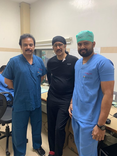 #Team MSH# Dr. Hiremath with his team for a joint practice.|Dr Shirish (M.S.) Hiremath - Cardiologist Pune|Shivaji Nagar,Pune