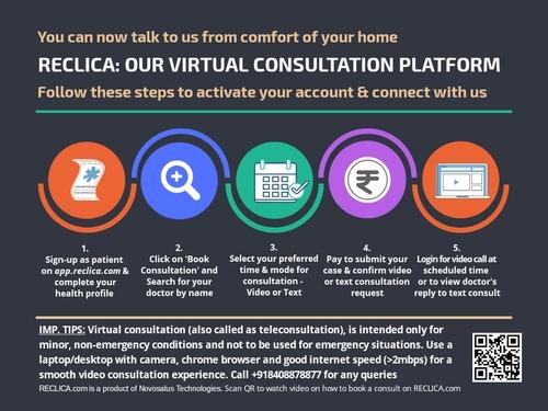 How to book video consultation|Dr Shirish (M.S.) Hiremath|Shivaji Nagar,Pune