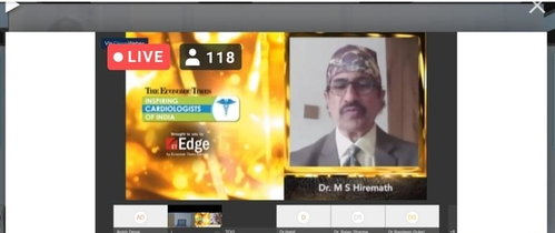 Economic Times Doctors Day Virtual Conclave 2020.|Dr Shirish (M.S.) Hiremath|Shivaji Nagar,Pune